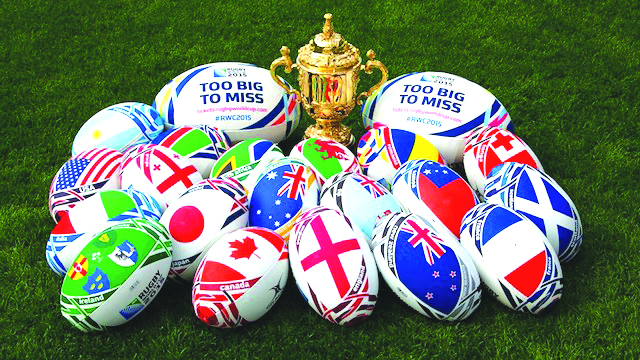 Five lucky African children to deliver 2015 Rugby World Cup match ball in London