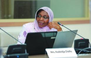 Le Département de Secteur privé accélérera les investissements dans l'infrastructure intégrée et transfrontalière — Kodeidja Diallo