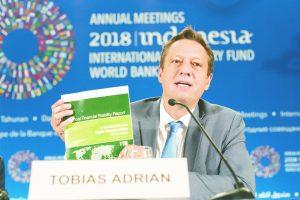 Adrian Tobias: IMF Financial Counsellor