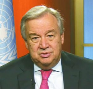 Antonio Guterres: UN Secretary General