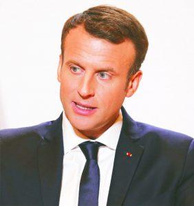Emmanuel Macron: President, France