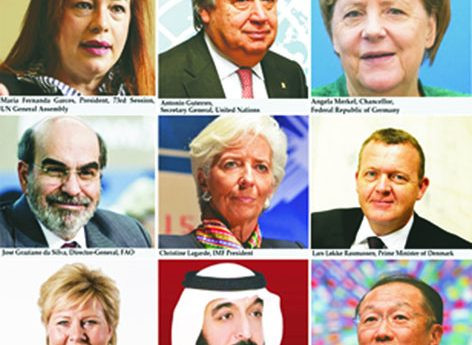 World Leaders call attention to Global Goals