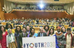UN's new strategy for youths 'to lead'